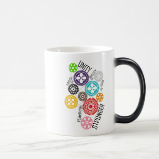 Safe With Me Cogs Morphing Mug