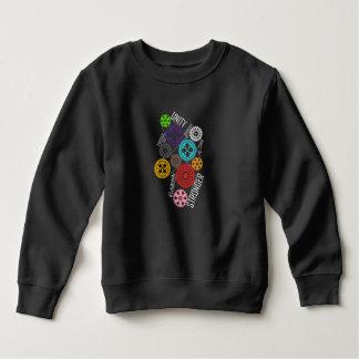 Safe With Me Cogs Toddler Dark Sweatshirt