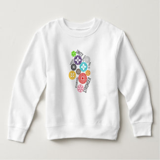 Safe With Me Cogs Toddler Sweatshirt