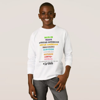 Safe With Me Cross Boy's Long Sleeve T-Shirt
