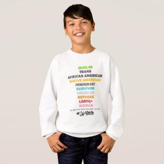 Safe With Me Cross Boy's Sweatshirt
