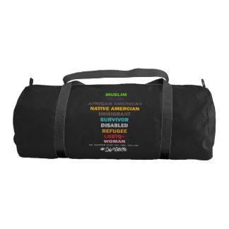 Safe With Me Cross Dark Duffel Bag