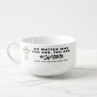 Safe With Me Cross Soup Mug