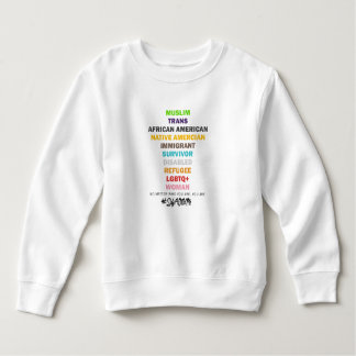 Safe With Me Cross Toddler Sweatshirt
