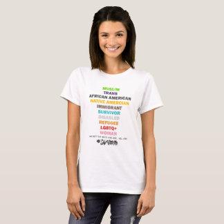 Safe With Me Cross Women's Basic T-Shirt