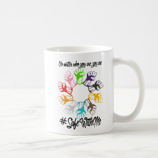 Safe With Me Fists Classic Mug