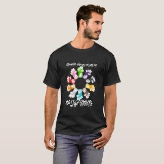 Safe With Me Fists Men's Basic Dark T-Shirt