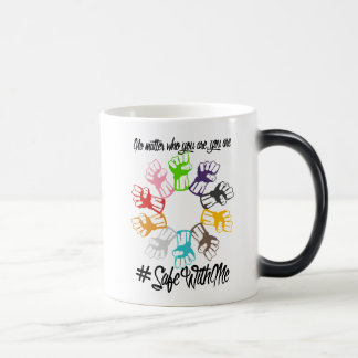 Safe With Me Fists Morphing Mug