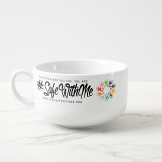 Safe With Me Fists Soup Mug