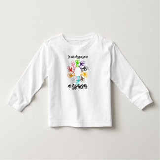 Safe With Me Fists Toddler Long Sleeve T-Shirt