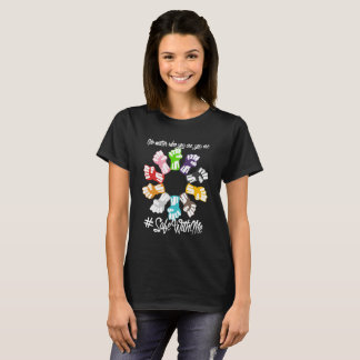 Safe With Me Fists Women's Basic Dark T-Shirt