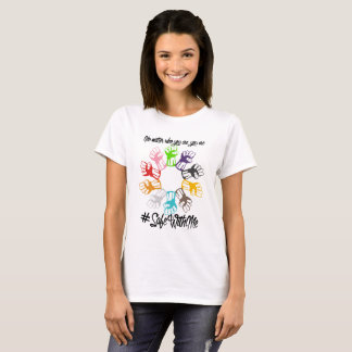 Safe With Me Fists Women's Basic T-Shirt