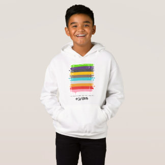 Safe With Me Flag Boy's Hoodie