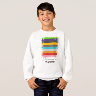 Safe With Me Flag Boy's Sweatshirt