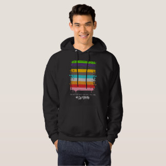 Safe With Me Flag Men's Basic Dark Hoodie