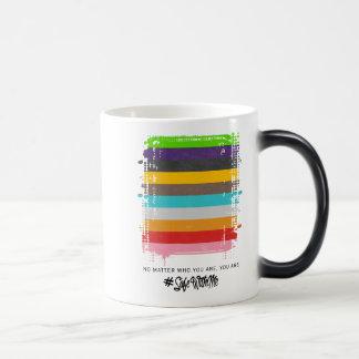Safe With Me Flag Morphing Mug