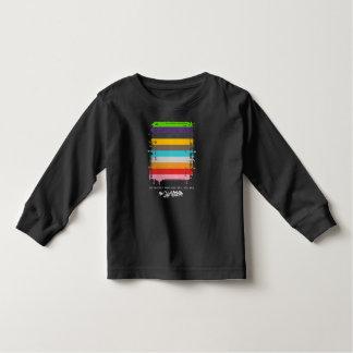 Safe With Me Flag Toddler Dark Long Sleeve T-Shirt
