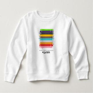 Safe With Me Flag Toddler Sweatshirt