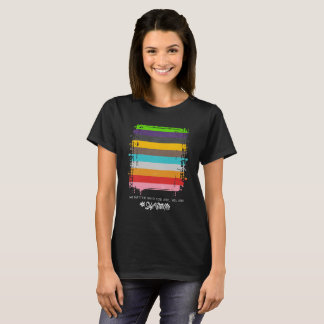 Safe With Me Flag Women's Basic Dark T-Shirt