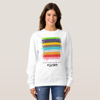 Safe With Me Flag Women's Basic Sweatshirt
