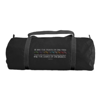 Safe With Me Tree Dark Duffel Bag
