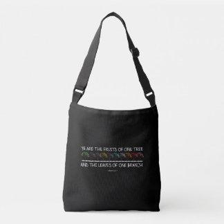 Safe With Me Tree Dark Sling Bag