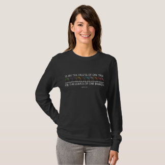 Safe With Me Tree Dark Women's Long Sleeve T-Shirt
