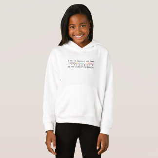 Safe With Me Tree Girl's Hoodie