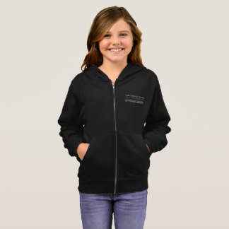 Safe With Me Tree Girl's Zip Hoodie