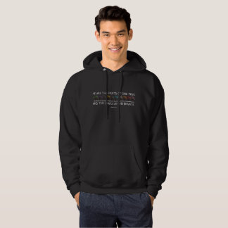 Safe With Me Tree Men's Basic Dark Hoodie