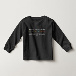 Safe With Me Tree Toddler Dark Long Sleeve T-Shirt