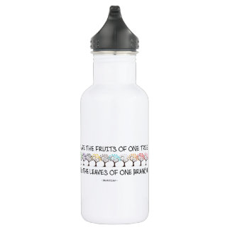 Safe With Me Tree Water Bottle