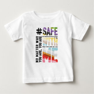 Safe With Me Watercolor Baby Jersey T-Shirt