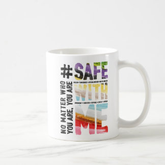 Safe With Me Watercolor Classic Mug