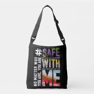 Safe With Me Watercolor Dark Sling Bag