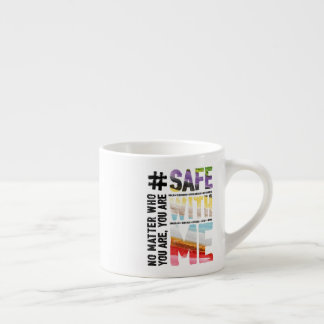 Safe With Me Watercolor Espresso Mug