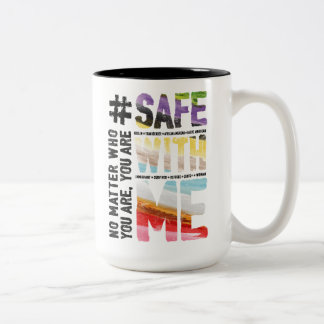 Safe With Me Watercolor Large Mug