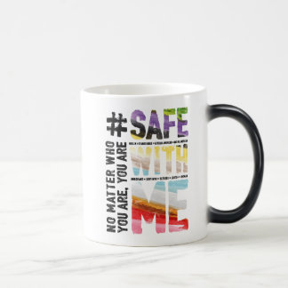 Safe With Me Watercolor Morphing Mug