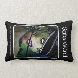 'Safe Word' (Lumbar) American MoJo Pillow