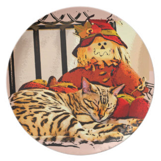 SAFELY GUARDED DINNER PLATES