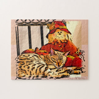SAFELY GUARDED JIGSAW PUZZLE