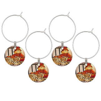 SAFELY GUARDED WINE CHARMS