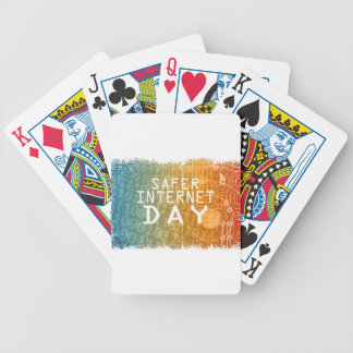 Safer Internet Day - Appreciation Day Bicycle Playing Cards