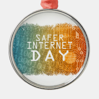 Safer Internet Day - Appreciation Day Metal Ornament