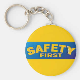 Safety 1st basic round button key ring