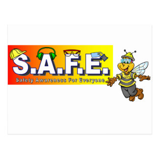 Safety Awareness Items Postcard