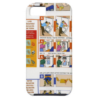 Safety card case for the iPhone 5