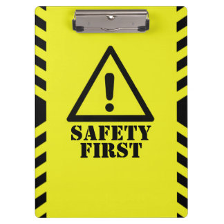 Safety First Auditor Clipboards