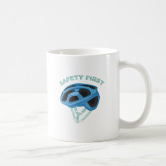 Safety First Coffee Mug