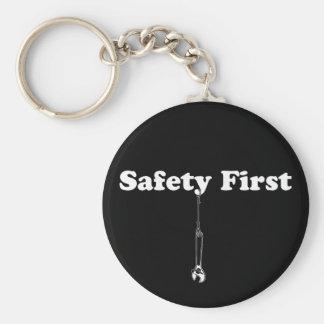 Safety First Keychains